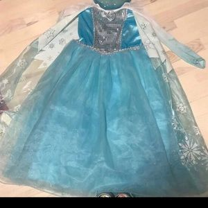 Frozen Elsa Princess Dress Costume Disney Store
